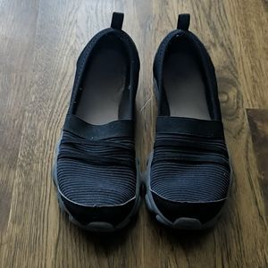 Black memory foam shoes